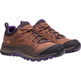 Keen Terradora Leather WP Shoes Women Scotch/Mulch